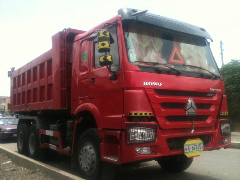 Sino Truck Dump Truck For Rent in Ethiopia