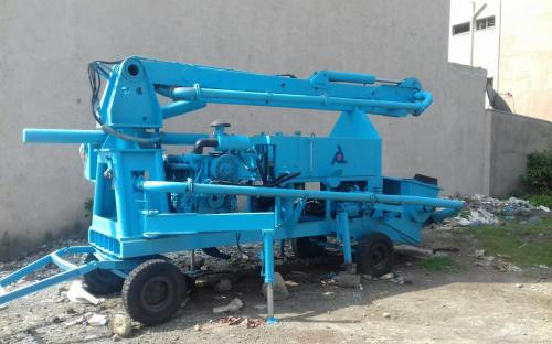 Mobile Concrete Pump For Sale