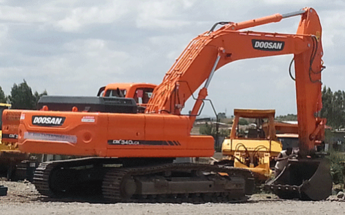 Doosan-Excavator For Rent